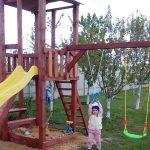 Установка детской площадки в Воронеже