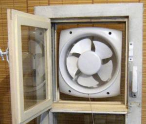 Оконный-вентилятор