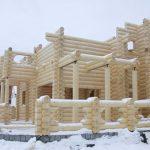Строительство дома в зимний период